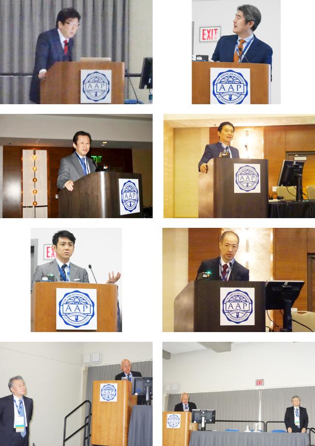 日本臨床歯周病学会、日本歯周病学会共催第102回アメリカ歯周病学会の様子1